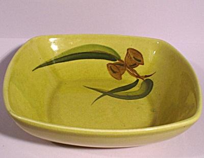 Winfield Eucalyptus Pattern Small Square Bowl (Image1)