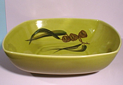 Winfield Eucalyptus Pattern Square Serving Bowl (Image1)
