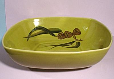 Winfield Eucalyptus Pattern Square Serving Bowl (Image1)