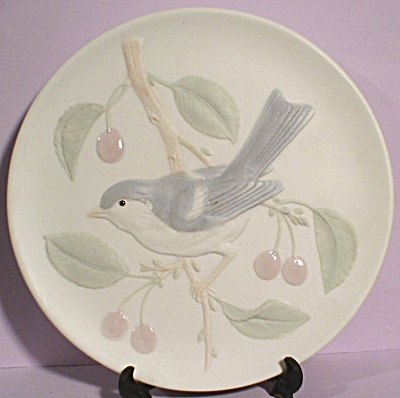 Crowning Touch Bluebird and Cherries Wall Plaque (Image1)