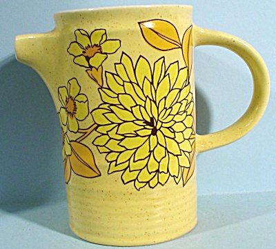 Arklow Ireland Small Yellow Pitcher (Image1)