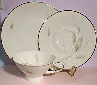 Rosenthal Regina Wheat Trio - Cup Saucer Plate