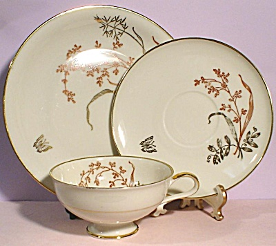Winterling Roslau Trio - Cup Saucer Plate (Image1)