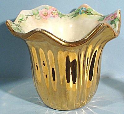 Czechoslovakian Small Handpainted Vase (Image1)
