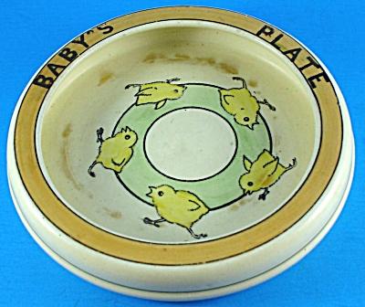 Roseville Juvenile Running Chicks Baby Plate (Image1)