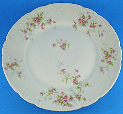 Theodore Haviland Limoges Floral Plate