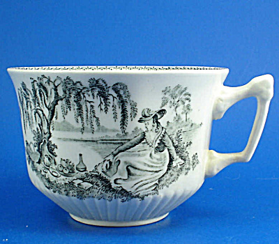 Wm Adams and Sons Ironstone Cup - Claudette (Image1)