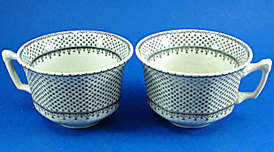 Wm Adams and Son Minuet Ironstone Cup and Saucer Pair (Image1)