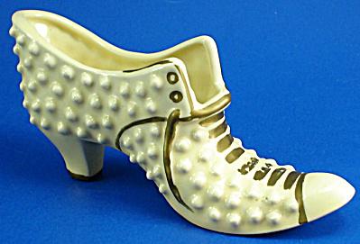 Yellow Pottery Shoe (Image1)