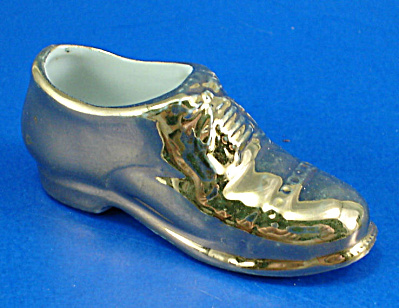 Miniature 1950s Pottery Loafer Shoe (Image1)