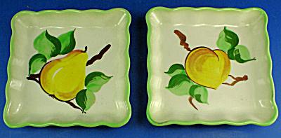 Decora Ceramic California Fruit Wallhanger Pair (Image1)