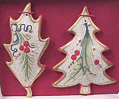 1975 Veneto Flair Christmas Ornaments