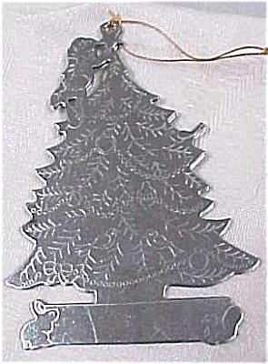Metal Christmas Tree Ornament (Image1)