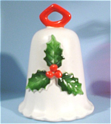 1960s/1970s Howard Holt Christmas Bell Ornament