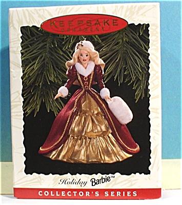 Hallmark Ornament Holiday Barbie, 1995 (Image1)