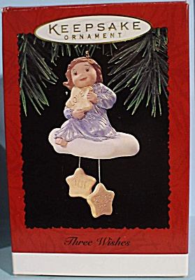 1995 Hallmark Three Wishes Ornament (Image1)