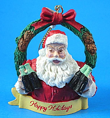 1989 Willitts Designs Coca Cola Santa Ornament (Image1)