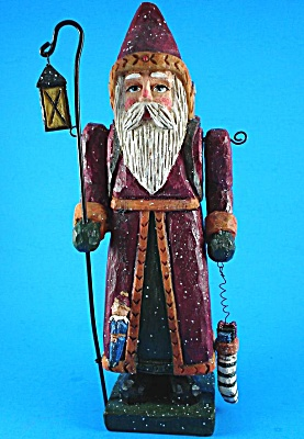 Large Resin Santa Figure (Image1)