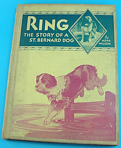 Book: Ring, A Story of a St Bernard Dog (Image1)