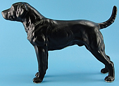 Lefton Black Labrador Retriever Dog