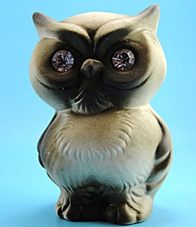 Roselane Pottery of California Sparkler Owl (Image1)