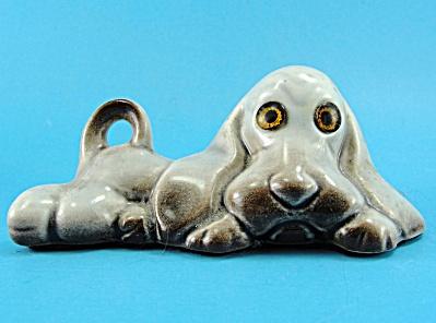 Roselane Pottery Glossy Basset Hound Dog (Image1)