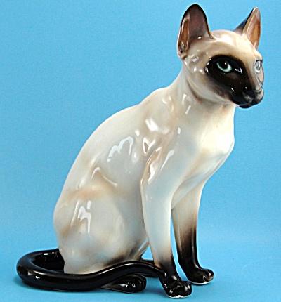 Shafford Ceramic Sitting Siamese (Image1)