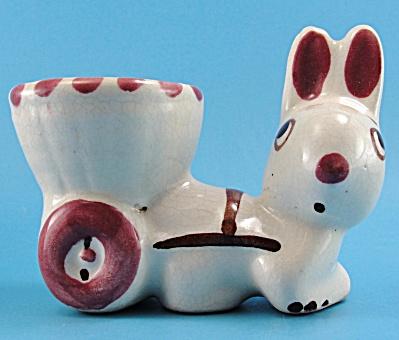 Rio Hondo Pottery Rabbit with Cart (Image1)