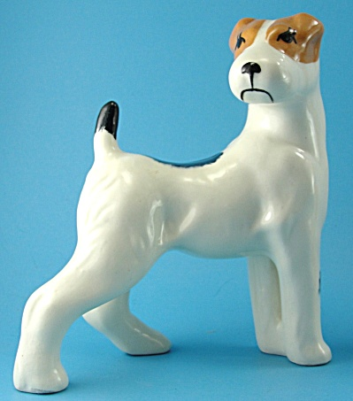 Robert Simmons Pottery Fox Terrier Dog