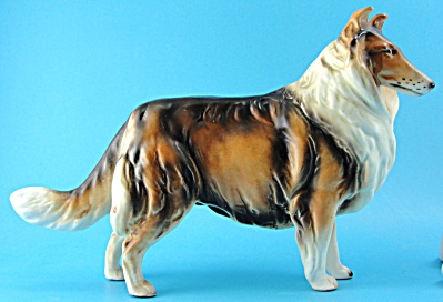 Lefton Collie Dog Figurine H7328 (Image1)