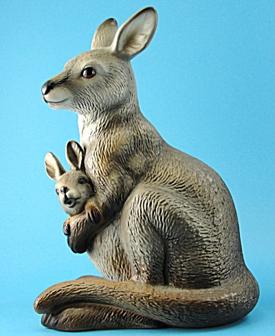Harvey Knox Japan Ceramic Kangaroo Figurine