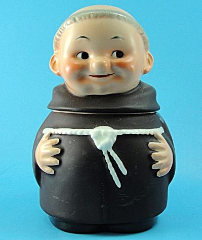 Goebel Friar Tuck Sugar Bowl (Image1)