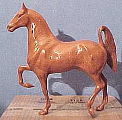 Hartland Horse: 3-Gaited Saddlebred Woodcut (Image1)
