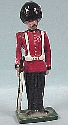 Metal Miniature English Soldier (Image1)