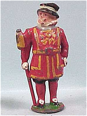 Miniature Cast Metal King (Image1)