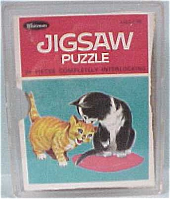 1968 Whitman Cat Puzzle (Image1)