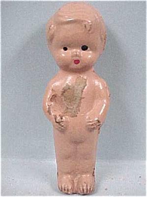 1930s Composition Mini Boy Doll (Image1)