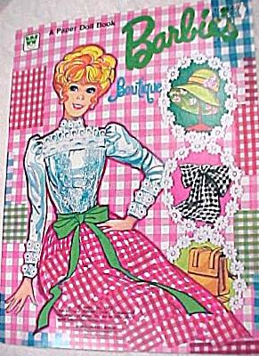 1973 Whitman Paper Doll - Barbie Boutique (Image1)