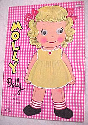 1965 Lowe #2757 Paper Doll Molly Dolly (Image1)