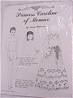 1979 Princess Caroline of Monico Paper Doll (Image1)