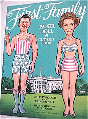1981 Dell Paper Dolls 'First Family' (Image1)