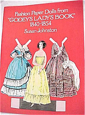 1977 Dover Paper Dolls Godey's Lady Book