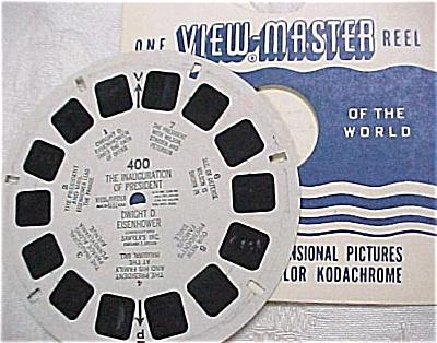 Viewmaster Reel #400, Eisenhower Inauguration (Image1)
