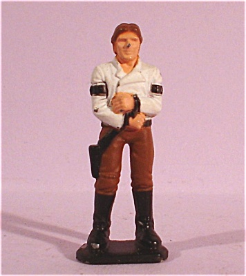 Miniature Metal Star Wars Hans Solo (Image1)