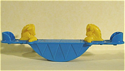 Acme / Thomas Industries Dollhouse Horse Teeter Totter (Image1)