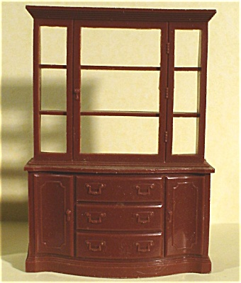 Marx Plastic Dollhouse China Cupboard (Image1)