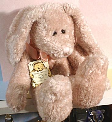 "Boyds Bunny Rabbit, 12"" high, Jeremiah B. Ribbit (Image1)"