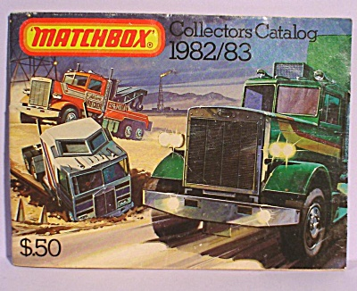 1982/1983 Matchbox Collector's Catalog (Image1)