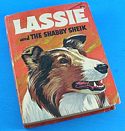 Big Little Book: Lassie And The Shabby Sheik