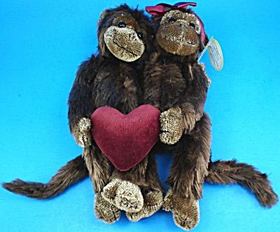 Bearington Bears Love Monkeys Val and Tina (Image1)